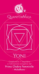 Acqua informatizzata QuantumVeda per il I° Chakra Femminile Yoni