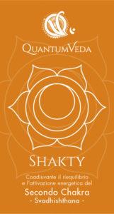 Acqua informatizzata QuantumVeda per il II° Chakra SHAKTY
